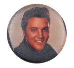 Elvis Presley Portrait Music Button Museum