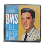 Elvis GI Blues Music Button Museum