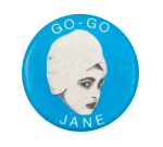 Go Go Jane Music Button Museum