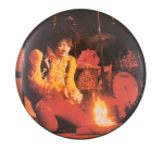 Jimi Hendrix Monterey Pop Music Button Museum