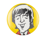 John Lennon Illustrated Music Button Museum