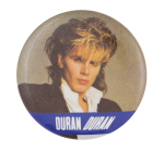 John Taylor Duran Duran One Music Button Museum