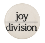 Joy Division Music Button Museum