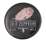 Led Zeppelin Music Button Museum