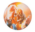 Led Zeppelin Live Music Button Museum