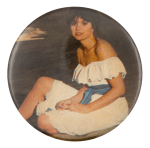Linda Ronstadt Portrait Music Button Museum
