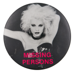 Missing Persons Photograph Music Button Museum