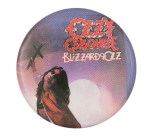 Ozzy Osbourne Blizzard of Ozz Photograph Music Button Museum