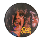 Ozzy Ozbourne Fangs Music Button Museum