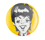 Paul McCartney Illustrated Music Button Museum