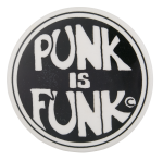 Punk is Funk Music Button Museum