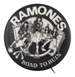 Ramones Road To Ruin Music Button Museum