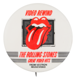 Rolling Stones Great Video Hits Music Button Museum