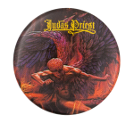 Judas Priest Sad Wings of Destiny Music Button Museum