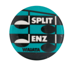 Split Enz Waiata Blue Music Button Museum