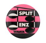 Split Enz Waiata Pink Music Button Museum