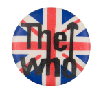 The Who Union Jack Music Button Museum