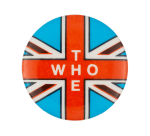 The Who Union Jack Light Blue