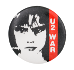 U2 War Music Button Museum
