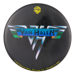 Van Halen Warner Brothers Music Button Museum