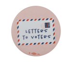 Dear Voter Cause Political Busy Beaver Button Museum