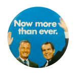 Nixon Agnew Color Photograph Political Busy Beaver Button Museum