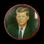 John F. Kennedy Political Busy Beaver Button Museum