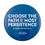 Path of Most Persistence Political Busy Beaver Button Museum