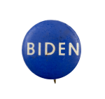 Biden Small Political Busy Beaver Button Museum