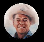 Ronald Reagan Political Busy Beaver Button Museum