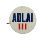 Adlai III Political Busy Beaver Button Museum