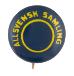 Allsvensk Samling Political Button Museum