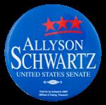Allyson Schwartz United States Senate Political Button Museum
