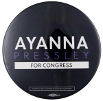Ayanna Pressley for Congress Political Busy Beaver Button Museum