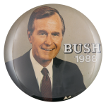 Bush 1988 Political Button Museum