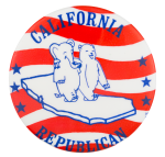 California Republican Political Button Museum