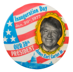 Carter Inauguration Political Button Museum