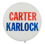 Carter Karlock Political Button Museum