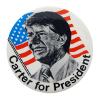 Carter For President Political Button Museum