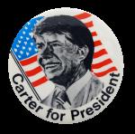 Carter For President Political Button Museum
