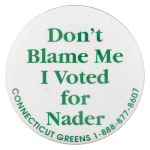 Connecticut Greens Political Button Museum