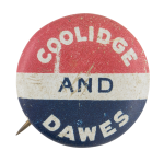 Coolidge and Dawes Political Button Museum