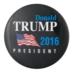 Donald Trump 2016 Political Button Museum