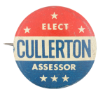 Elect Cullerton Political Button Museum