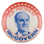 For President McGovern Political Button Museum