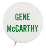 Gene McCarthy Political Button Museum