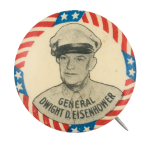 General Dwight D. Eisenhower Political Button Museum