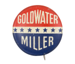 Goldwater Miller Stars Political Button Museum