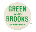 Green and Brooks Political Button Museum