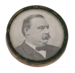 Grover Cleveland Political Button Museum